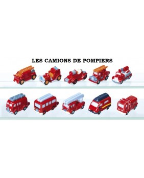 The fire trucks - box of 100