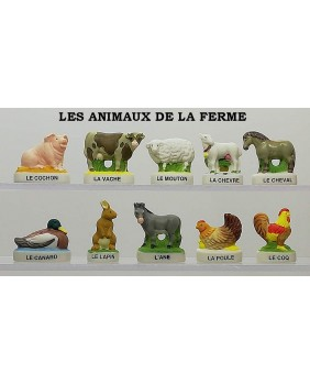 The farm's animals - box of 100