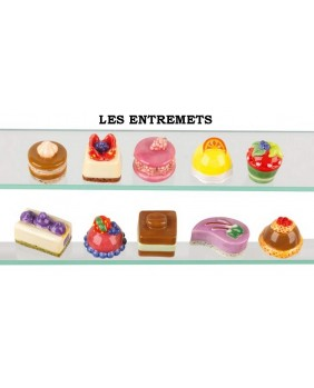 The desserts - box of 100