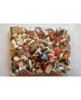 Batch of 100 high quality diverse loose feves - For professional ONLY