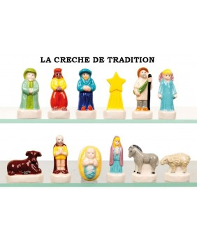 The traditional nativity scene - box of 100