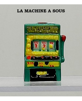 "Set of 5 winning fèves numbered ""slot machine"""