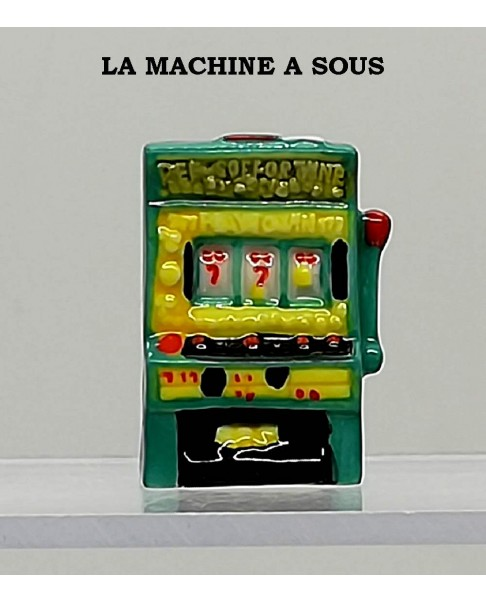 "Winning fève numbered ""slot machine"""