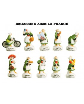 Becassine loves France - box of 100