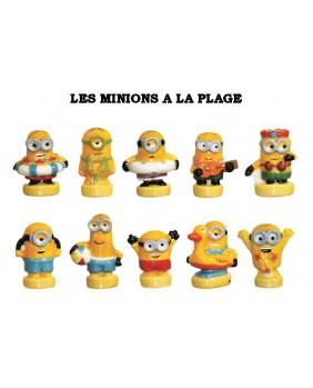 Minions at the beach