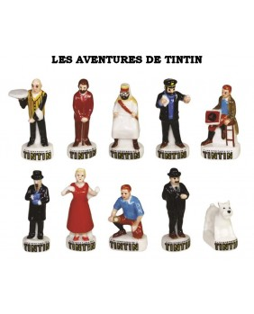 The Tintin adventures