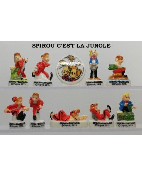 Spirou it's the jungle - box of 100