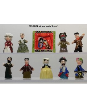 Guignol and his friends - box of 100