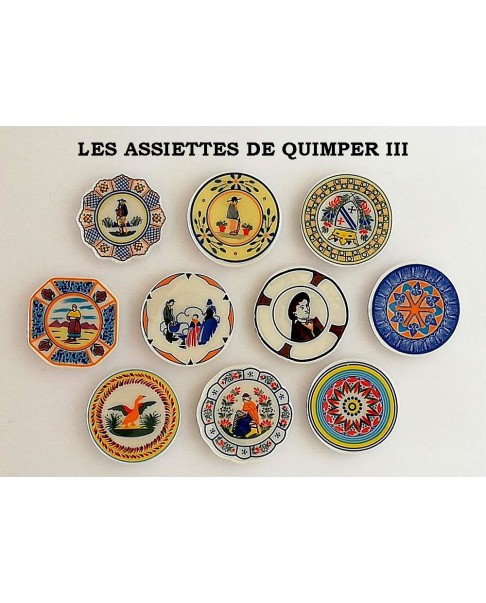 The Quimper's plates III