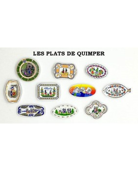 The Quimper's dishies - box of 100