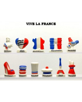 Long live France - box of 100