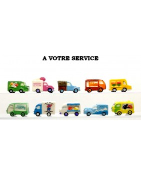 At your service - box of 100
