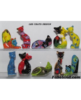 Les chats design