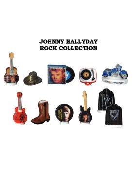 Johnny Hallyday rock collection - box of 100