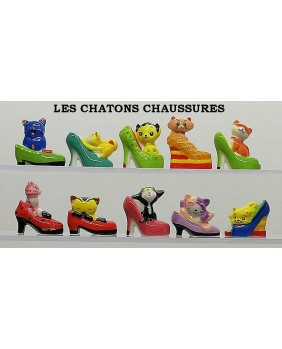 Les chatons chaussures