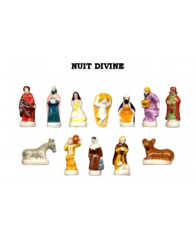 Santons - divine night creche