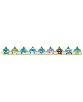 Robocar poli crown - box of 100