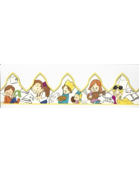 Kid's months of the year crown