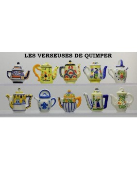 The Quimper's coffee pots