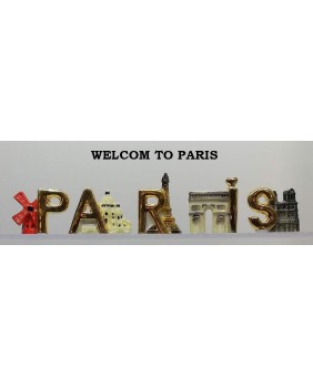 "WELCOME TO PARIS ""les monuments"""