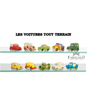 All-terrains cars - box of 100