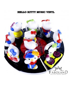 Hello kitty music vinyl