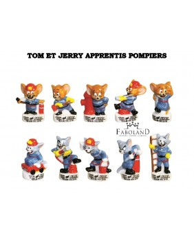 Tom and Jerry firefighters apprentices