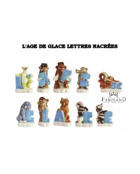 The ice age pearly letters