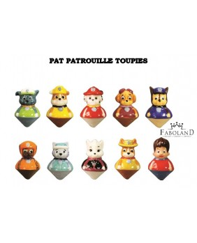 Paw patrol spinning-tops