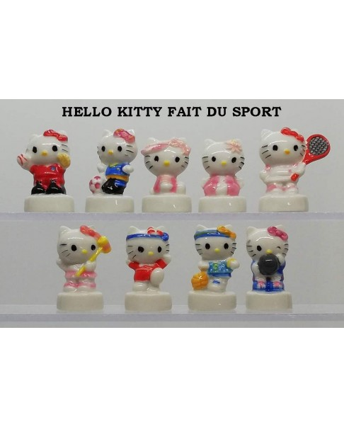 Hello kitty fait du sport