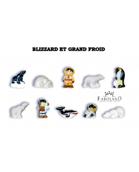 Blizzard et grand froid