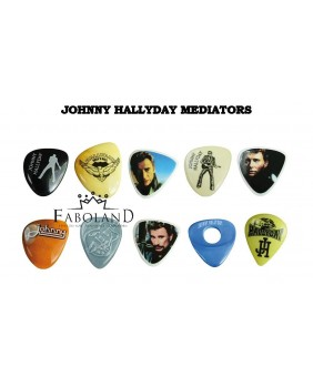 Johnny hallyday plectrums