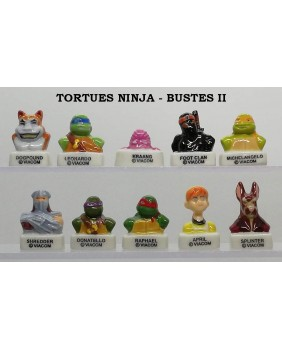 "The ninja turtles ""busts"""