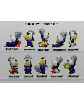 Droopy pompier