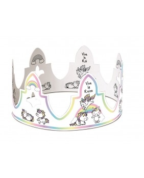 The unicorns crown