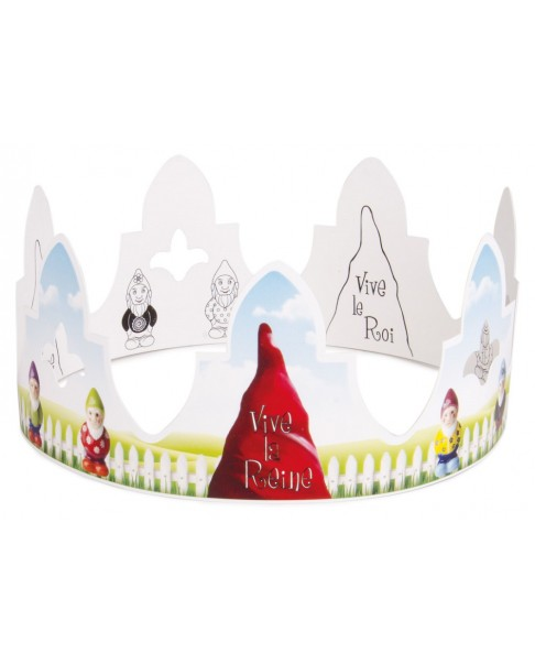 Garden gnomes crown