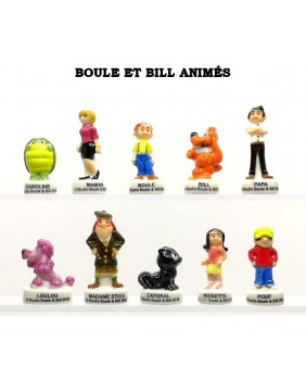 BOULE & BILL animés