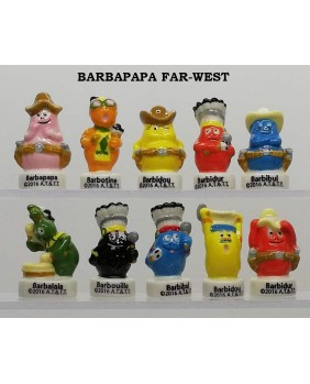 Barbapapa au far west