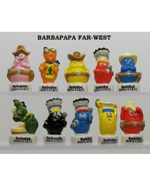 "The barbapapa family ""far west"""