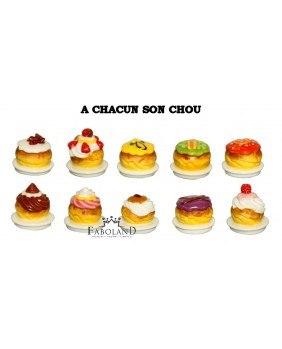 Each one its choux bun
