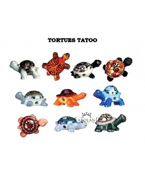 Turtles tattoo - box of 100
