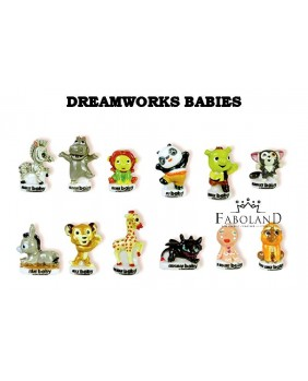 Dreamworks babies - box of 100