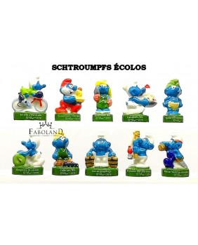 The ecological smurfs - box of 100