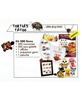 KIT tortue tatoo