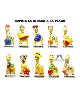 Sophie the girafe at the beach - box of 100