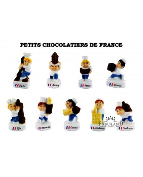 Little chocolate sellers from France