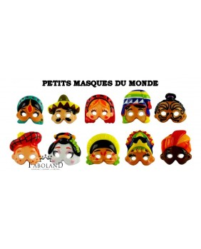Little masks from the world