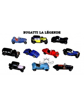 Bugatti the legend