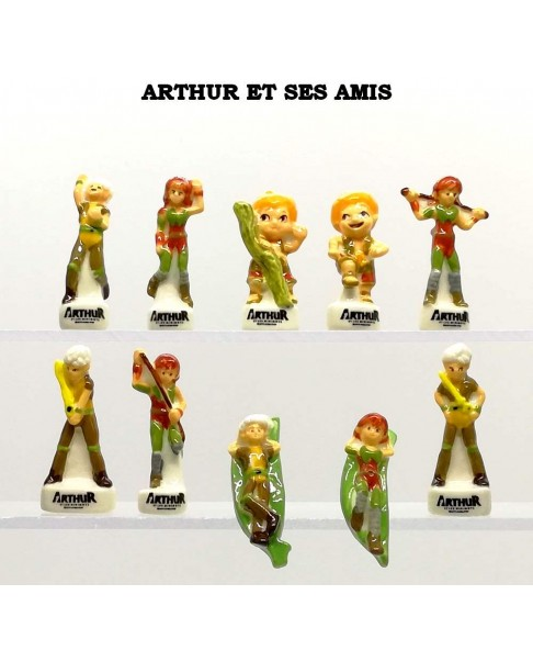 Arthur and his friends - box of 100