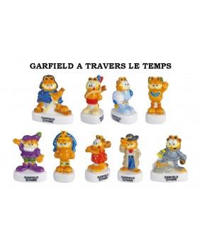 Garfield à travers le temps
